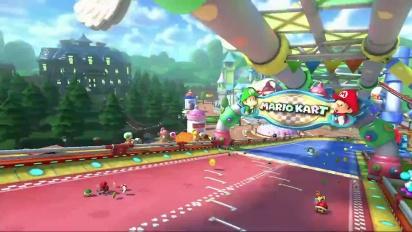 Mario Kart 8 - DLC Pack 2 GCN Baby Park Trailer