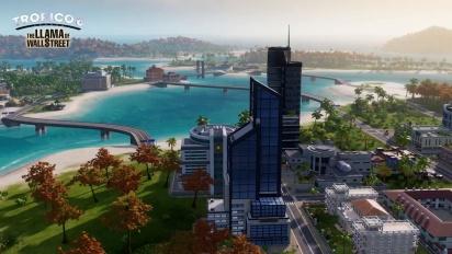 Tropico 6 DLC: The Llama of Wallstreet Trailer